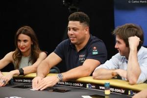 Ronaldo de Lima poker skills