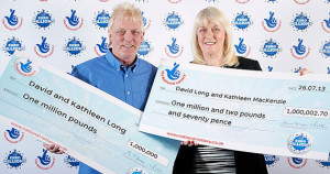 second time million lotto winners