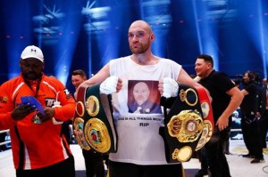 Tyson Fury stripped of title