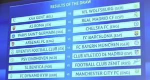 uefa ucl last 16, 2015-2016