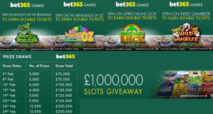 one million pounds giveaway at bet365