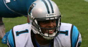 cam panthers winning the superbowl